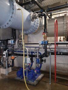 CO2-dosering installatie